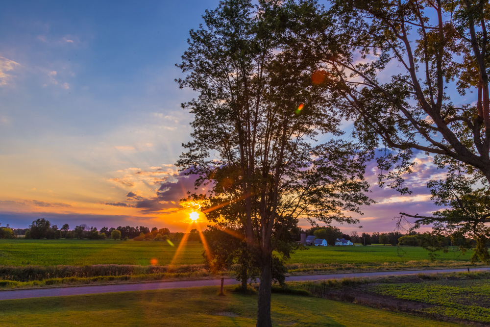 170701d-Michigan-Sunset s