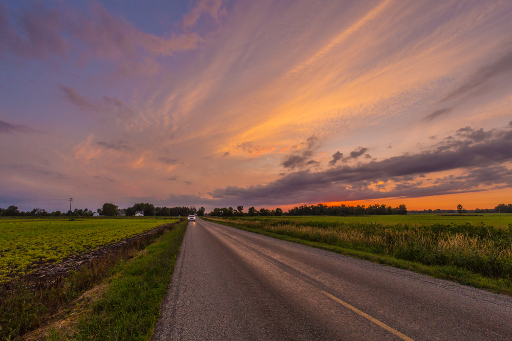 170703 Sunset in Michigan _MG_0167 s