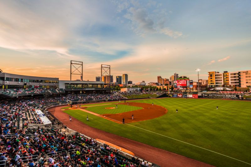 170712S Sunset from Regions Field s