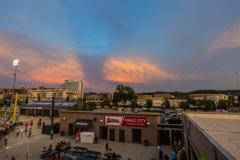 170712S Sunset from Regions Field_2 s