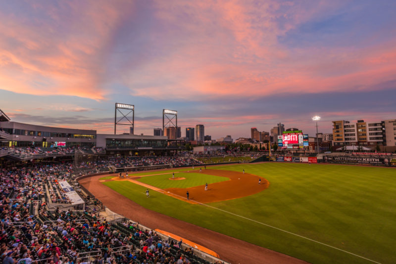 170712S Sunset from Regions Field_3 s