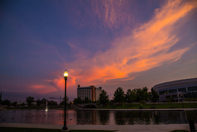 170722 Huntsville Downtown at Sunset _MG_0127 s