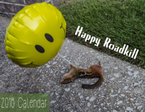 2018 Roadkill Calendar Cover web