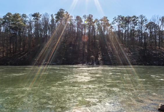 180119 Frozen Lake at Oak Mountain IMG_1762 s