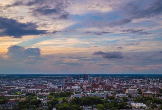 180522 Sunset from The Top of Vulcan IMG_8677 s