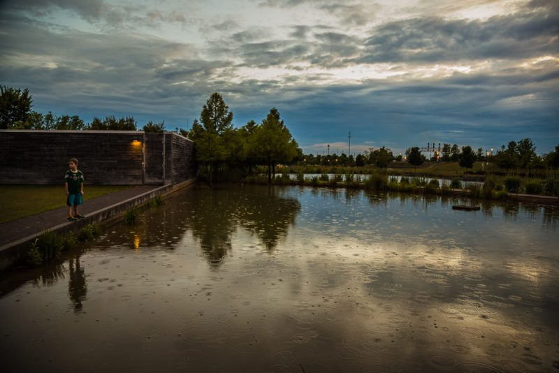 180525 Rainy sunset at railroad park IMG_0264 s