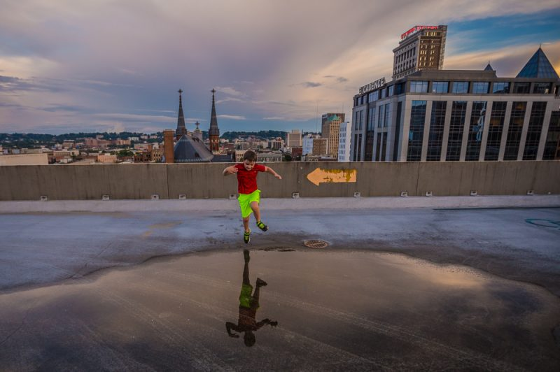 180529-Noah-Sunset-Downtown-Puddle-Jumps-IMG_9245 s