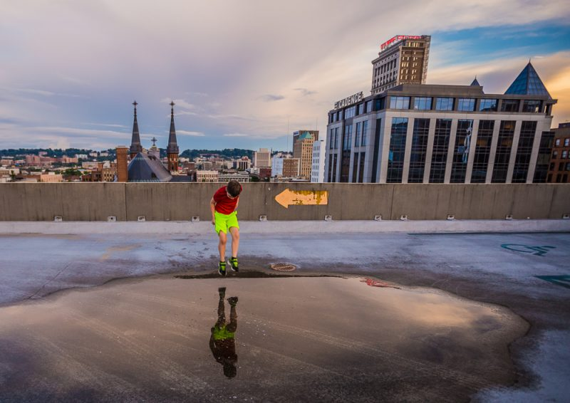 180529-Noah-Sunset-Downtown-Puddle-Jumps-IMG_9254 s