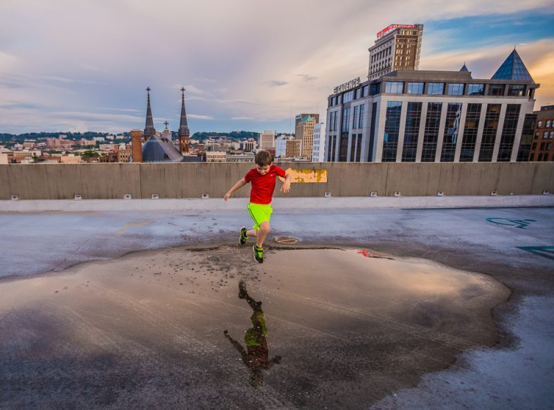 180529-Noah-Sunset-Downtown-Puddle-Jumps-IMG_9256 s