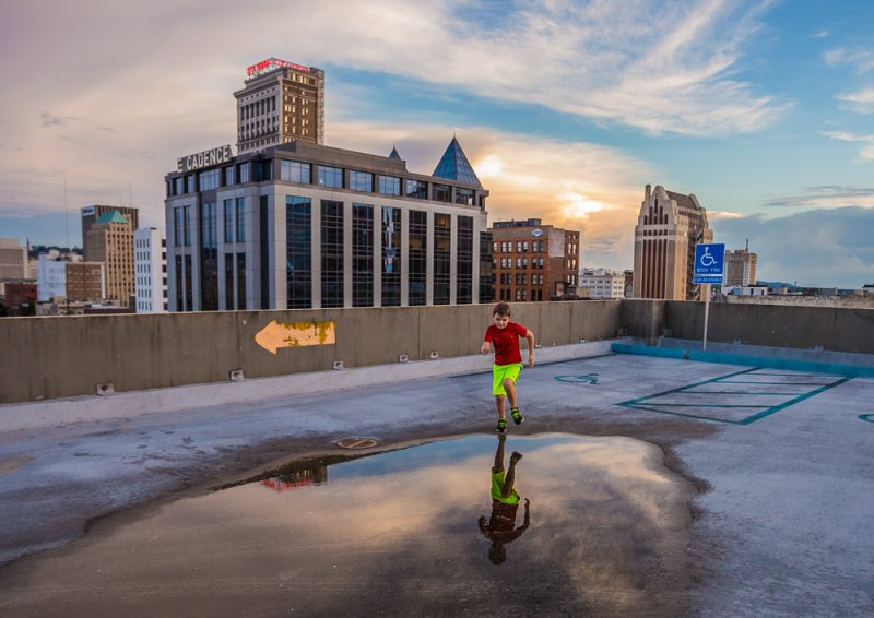 180529-Noah-Sunset-Downtown-Puddle-Jumps-IMG_9265 s