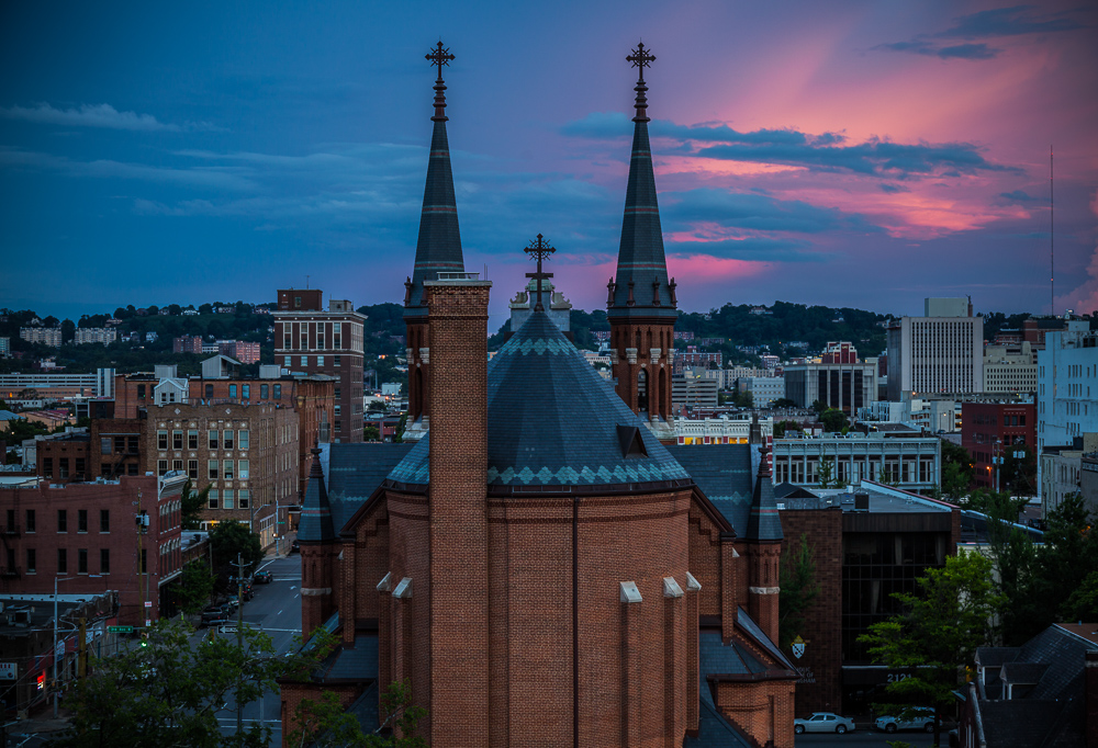 180529 pink skies and the church IMG_9337 s