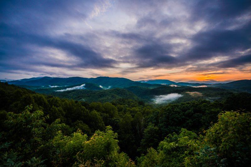 180628 Smoky Mountain Sunset IMG_8027-HDR small