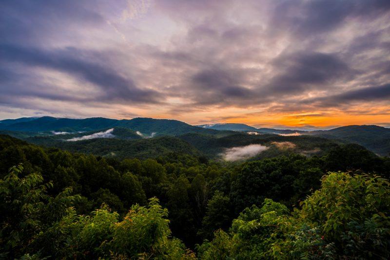 180628 Smoky Mountain Sunset IMG_8038-HDR small