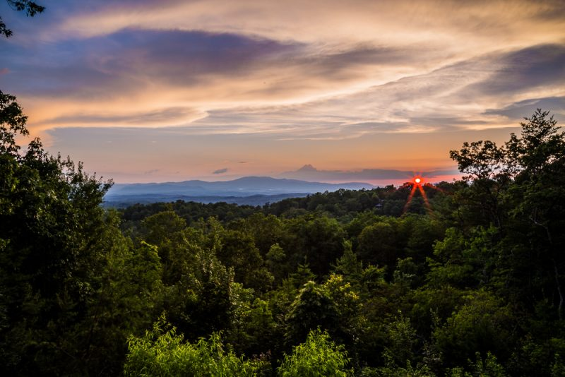 180629 sunset over the blue ridge mountains IMG_8365-HDR small