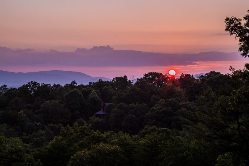 180629 sunset over the blue ridge mountains IMG_8389-HDR small
