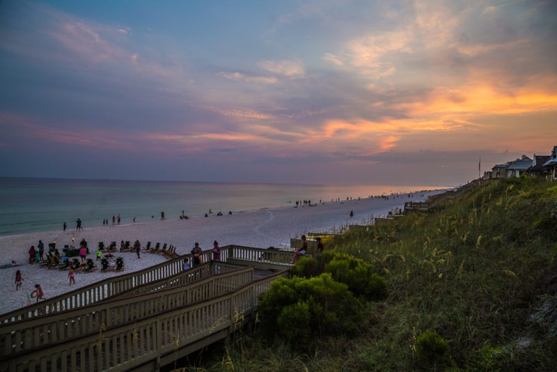180729 Rosemary Beach at Sunset IMG_0985 s