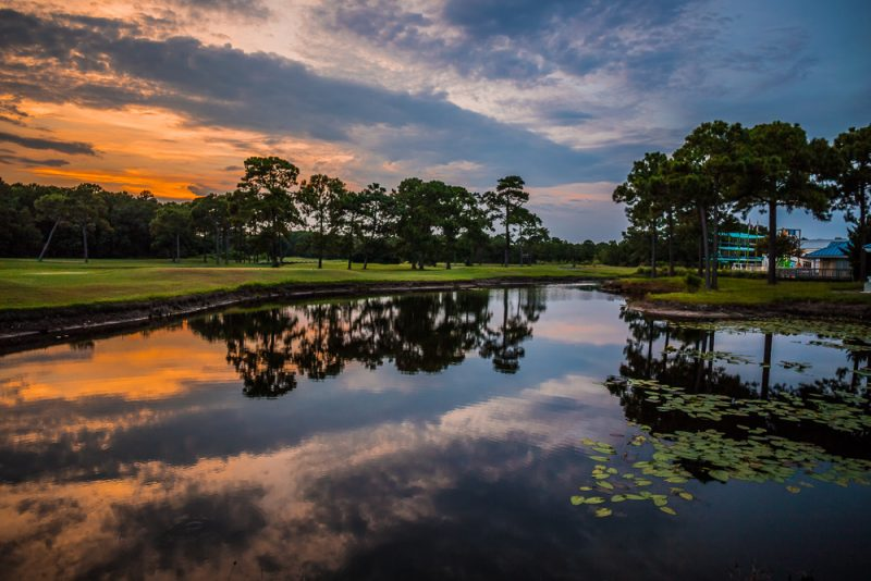 180729 Sandestin Sunset on the Golf Course IMG_1086 s