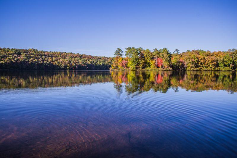 181029 Oak Mountain Lake in the Fall IMG_8964 S