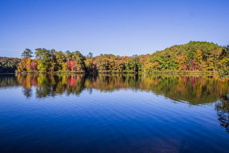 181029 Oak Mountain Lake in the Fall IMG_8983 S
