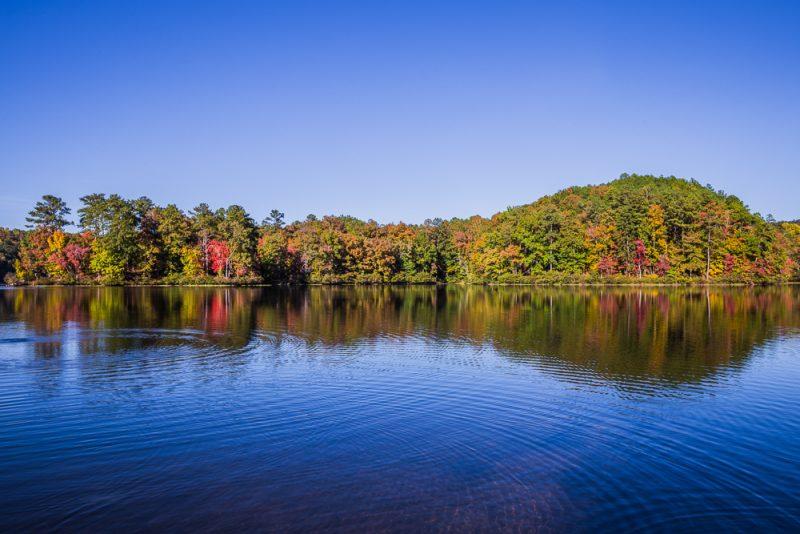 181029 Oak Mountain Lake in the Fall IMG_8992 S