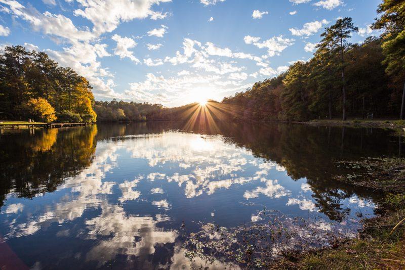 181104 oak mountain tranquility lake sunset IMG_0446 S