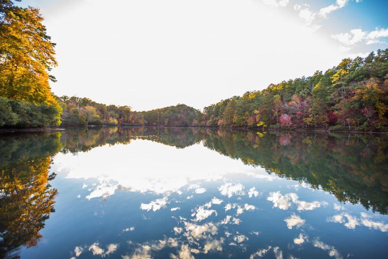 181104 oak mountain tranquility lake sunset IMG_0461 S