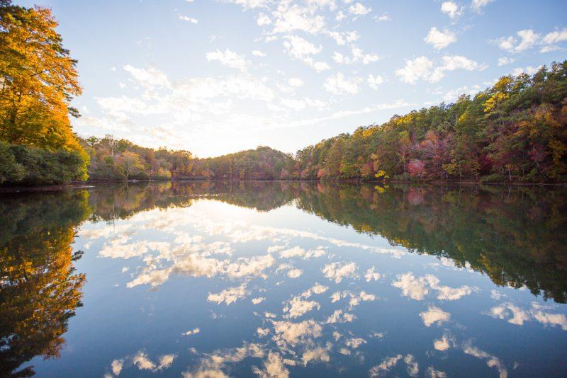 181104 oak mountain tranquility lake sunset IMG_0464 S