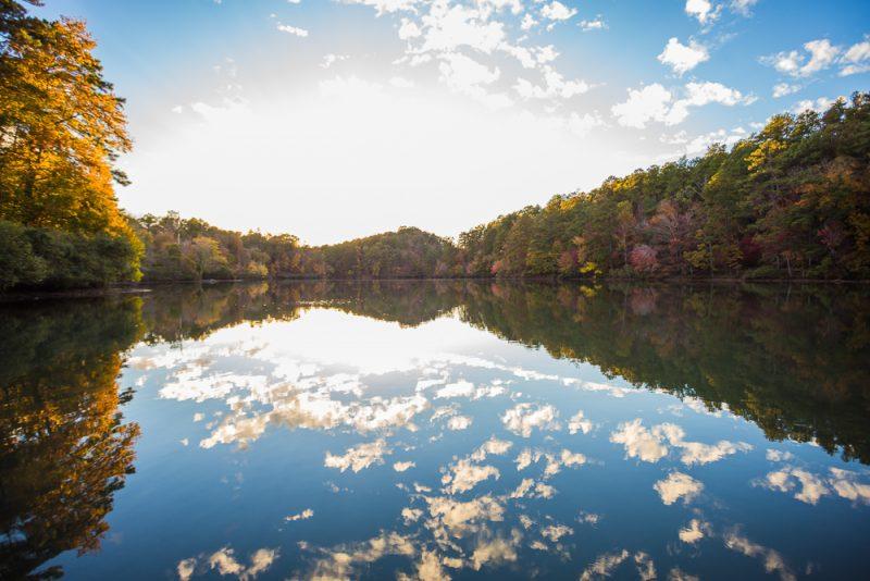 181104 oak mountain tranquility lake sunset IMG_0473 S