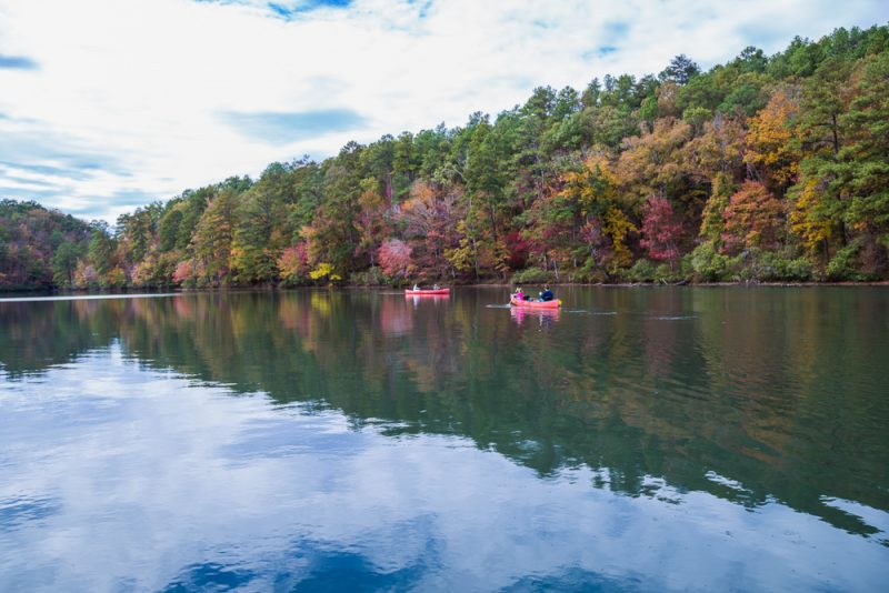 181106 oak mountain tranquility lake sunset IMG_0153 S