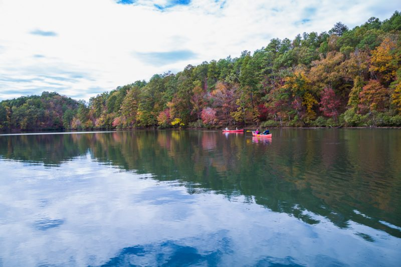 181106 oak mountain tranquility lake sunset IMG_0156 S