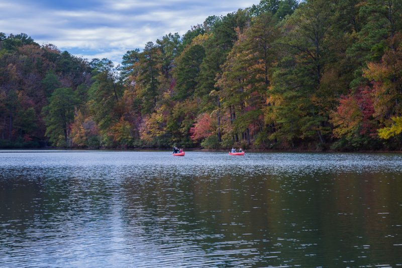 181106 oak mountain tranquility lake sunset IMG_0202 S