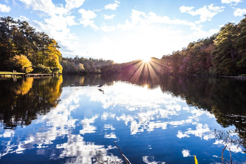 181106 oak mountain tranquility lake sunset IMG_0438 S