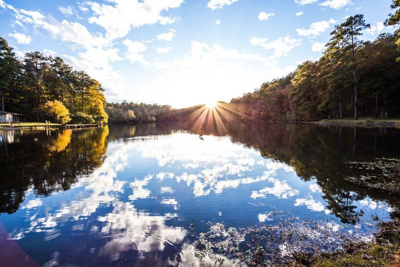 181106 oak mountain tranquility lake sunset IMG_0439 S