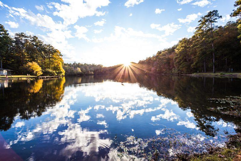 181106 oak mountain tranquility lake sunset IMG_0441 S