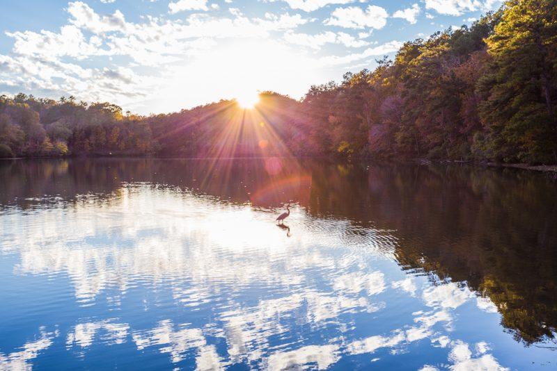 181106 oak mountain tranquility lake sunset IMG_0454 S