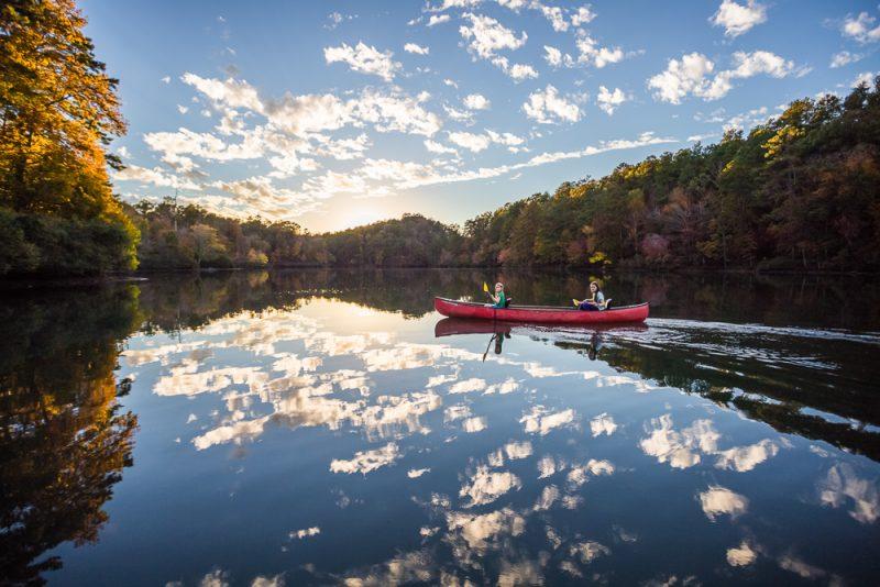 181106 oak mountain tranquility lake sunset IMG_0487 S