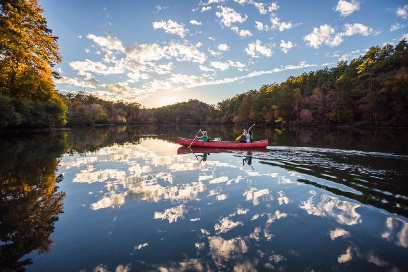 181106 oak mountain tranquility lake sunset IMG_0490 S