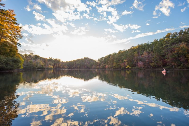 181106 oak mountain tranquility lake sunset IMG_0548 S