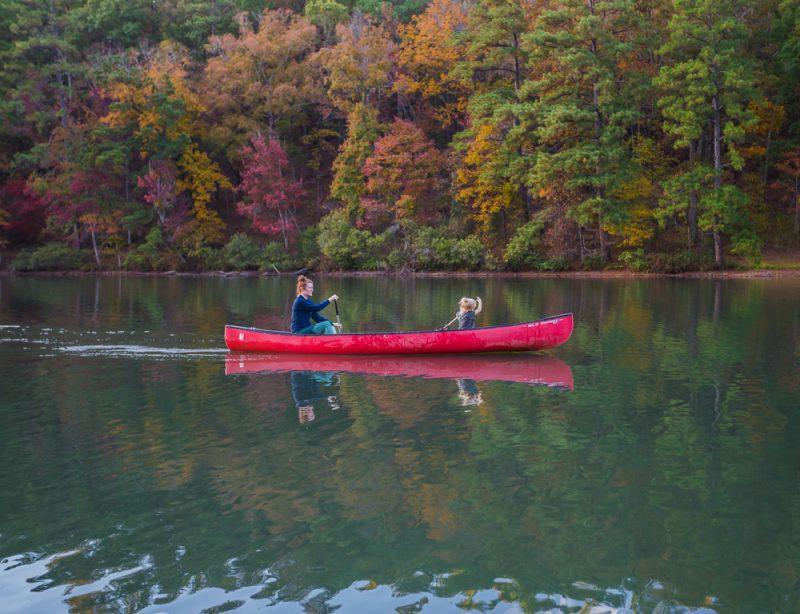 181106 oak mountain tranquility lake sunset IMG_0666 S
