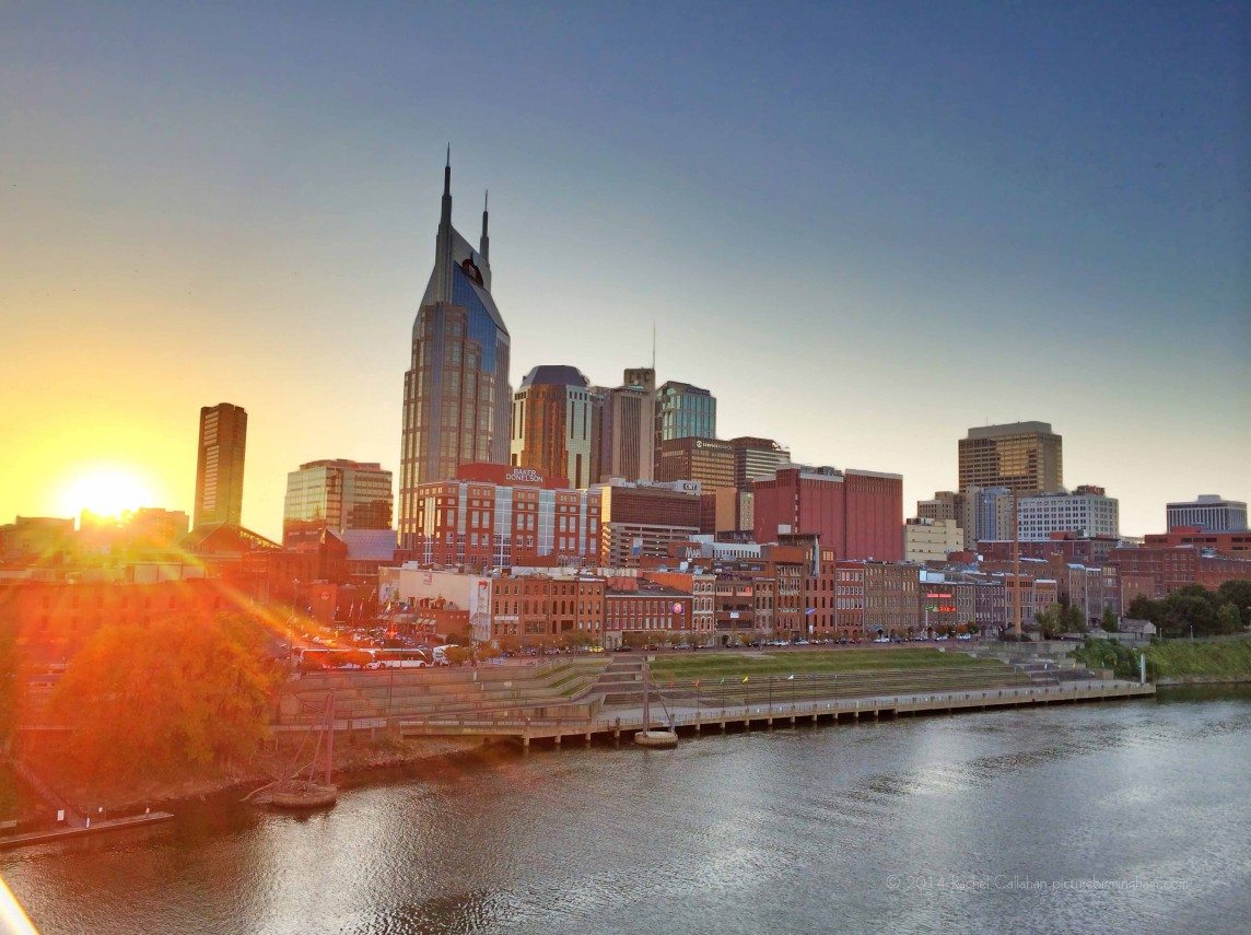 Nashville From the Bridge