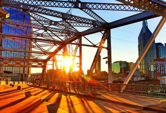 Nashville Through The Bridge