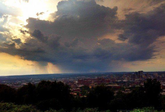 A Stormcloud over Birmingham