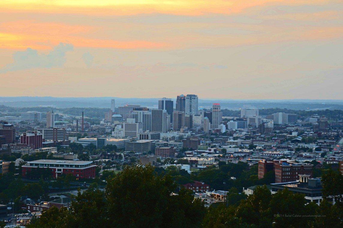 Birmingham in Soft Hues