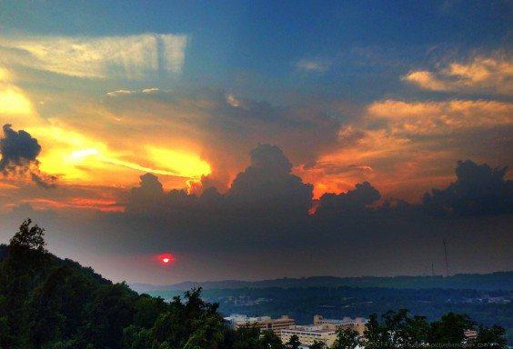 Skies over Homewood