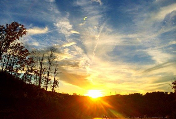 A Grants Mill Sunset