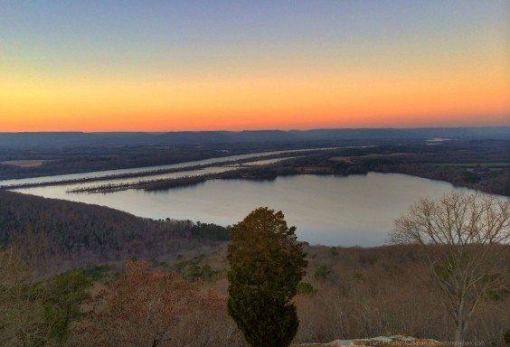 Gorham's Bluff Sunset