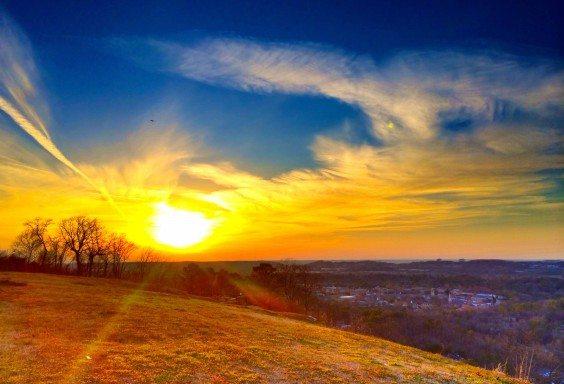 Early Sunset Over Samford