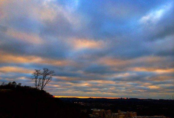 A True War Eagle Sunset