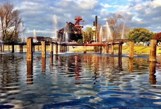 Sloss Furnaces By Jamie Golden