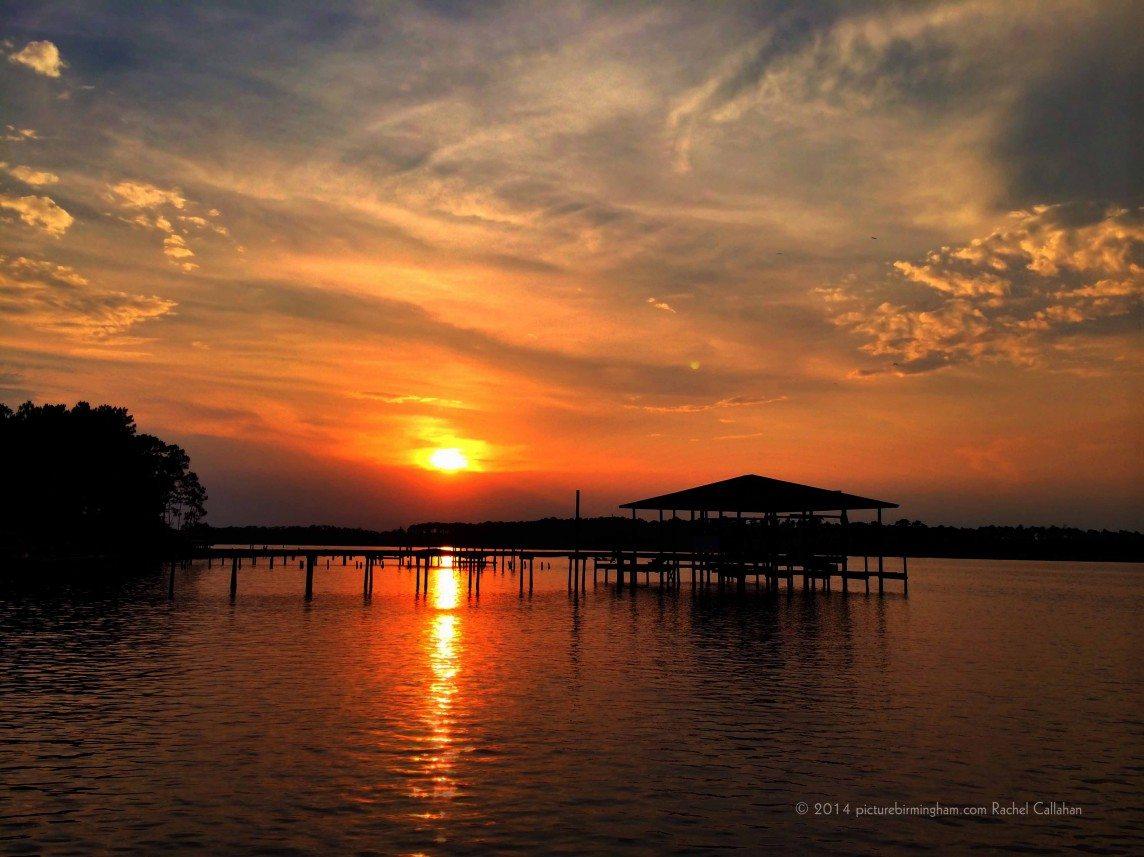 Sunset on Wolf Bay
